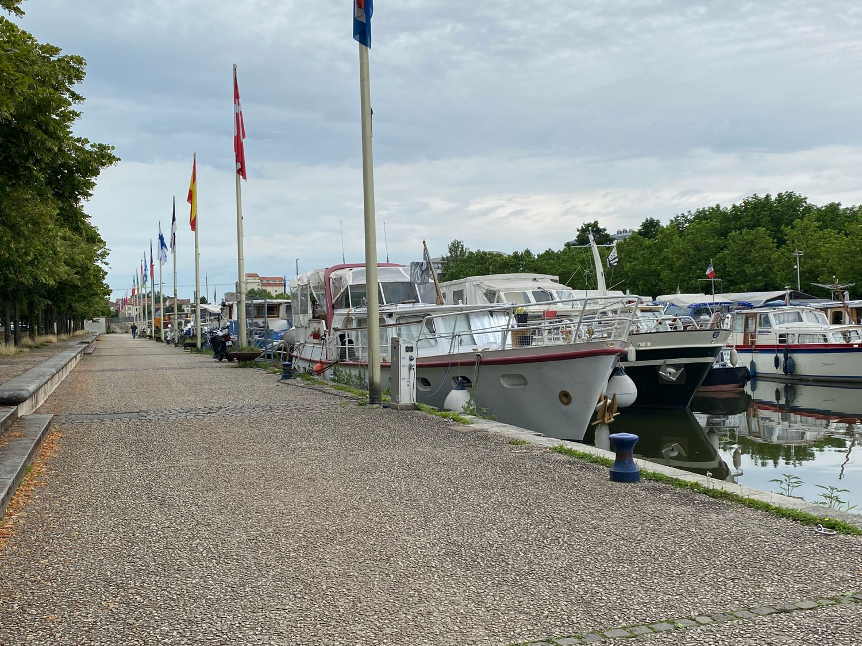 Le port de plaisance Saint Georges à Nancy