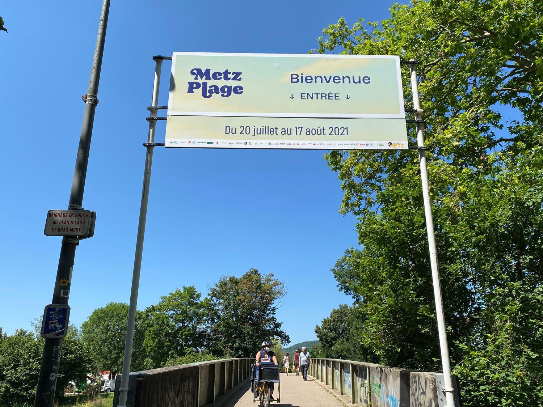 Covid-19: Réduction de la jauge de fréquentation de Metz-Plage
