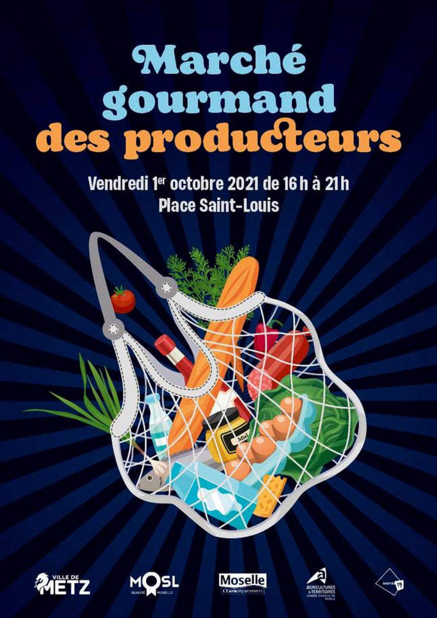 Le « Marché Gourmand des producteurs » aura lieu ce vendredi 1er octobre