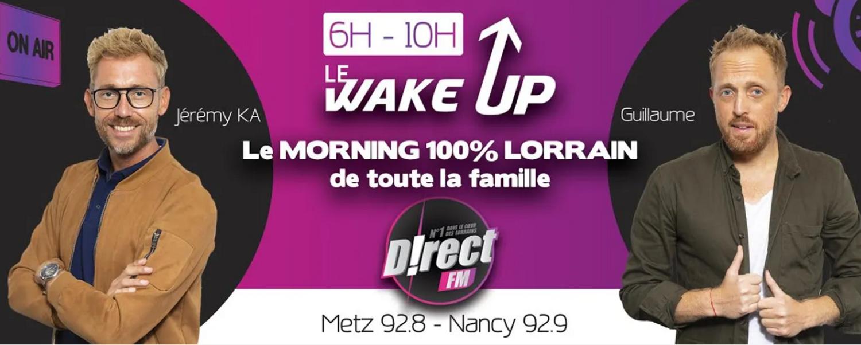 Le Wake Up de D!RECT FM