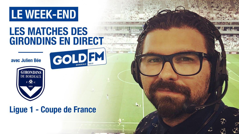 Suivez les matches des Girondins de Bordeaux en direct sur Gold FM
