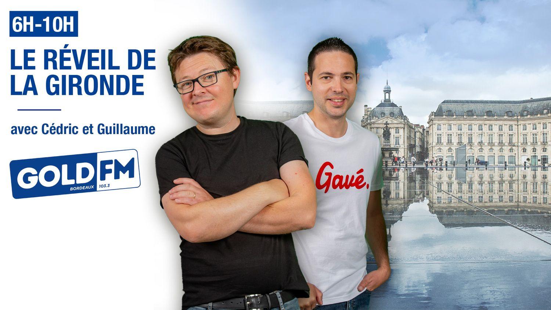 Le réveil de la Gironde avec Cédric et Guillaume sur Gold FM