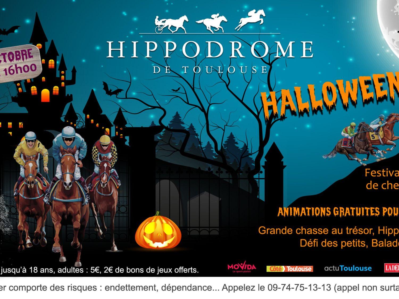 Halloween à l'hippodrome