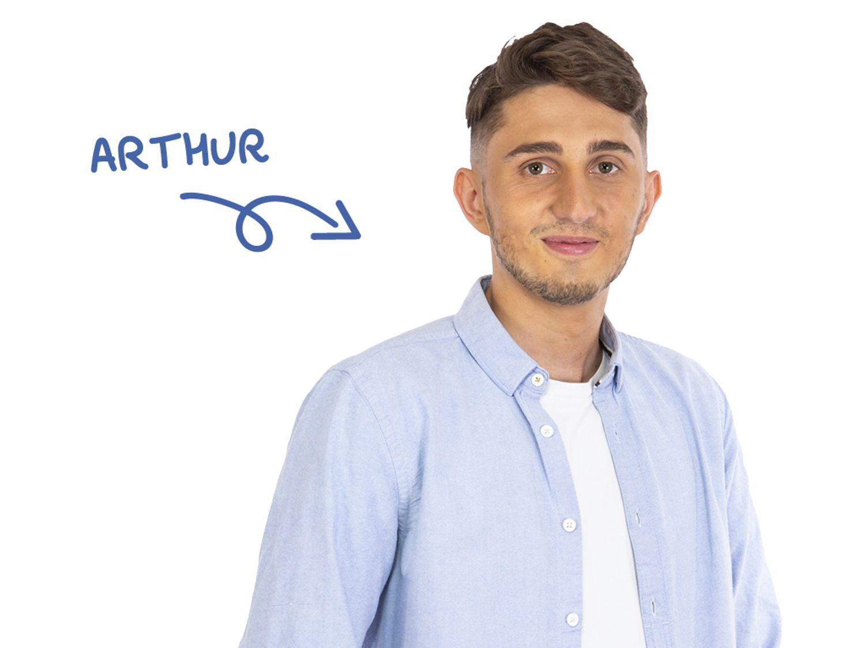 Arthur Le Maout, journaliste à Toulouse FM