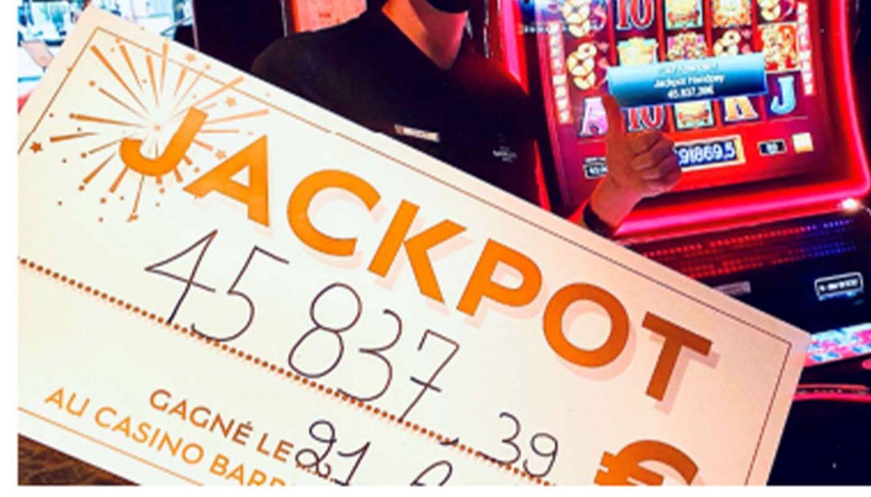 Jackpot au casino