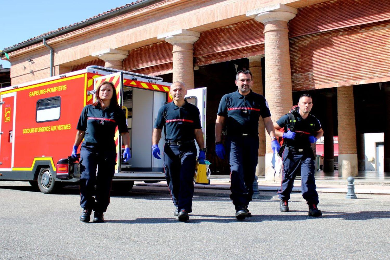 Pompiers SDIS 31 recrutement