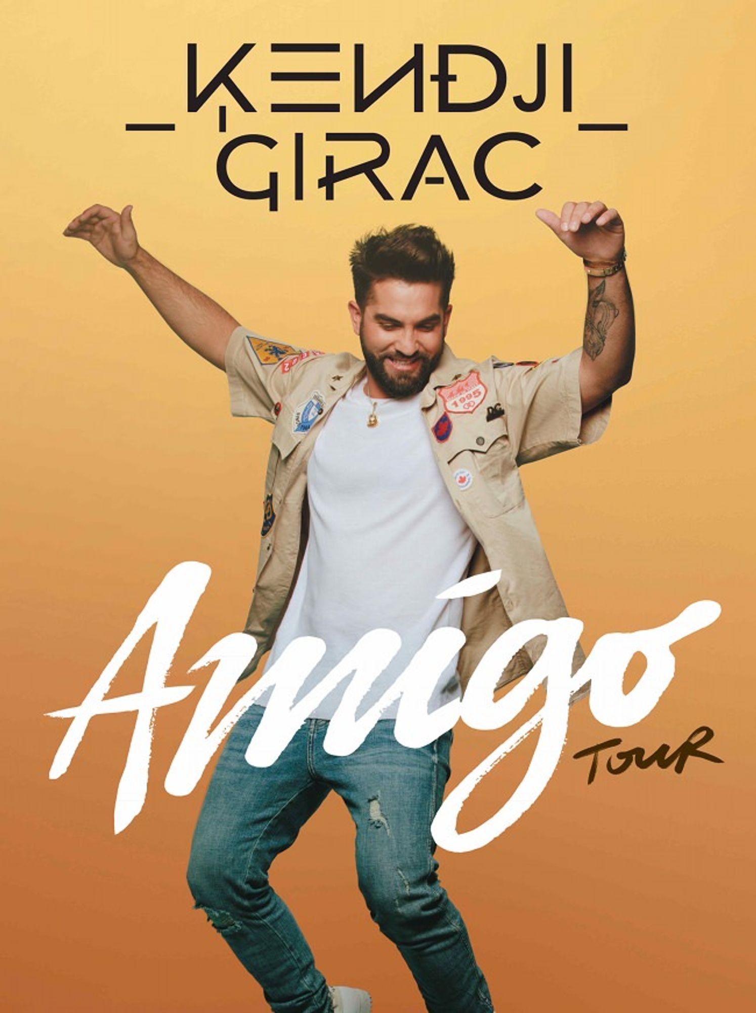 Amigo Tour Kendji Girac Bordeaux
