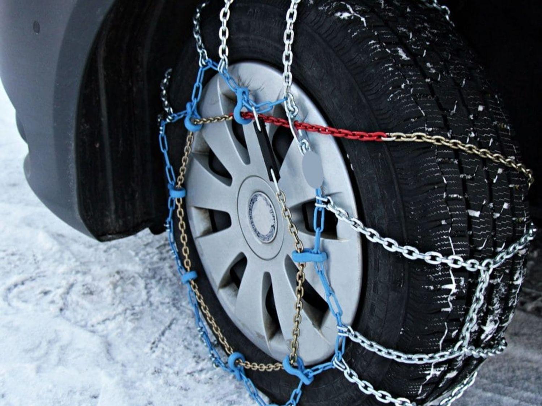 chaîne neige pneu hiver