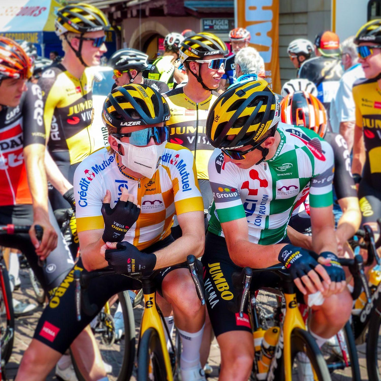 Tour Alsace départ coureurs