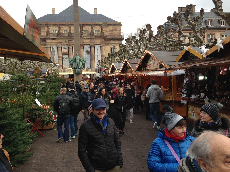 Christkindelsmärik marché noël Strasbourg