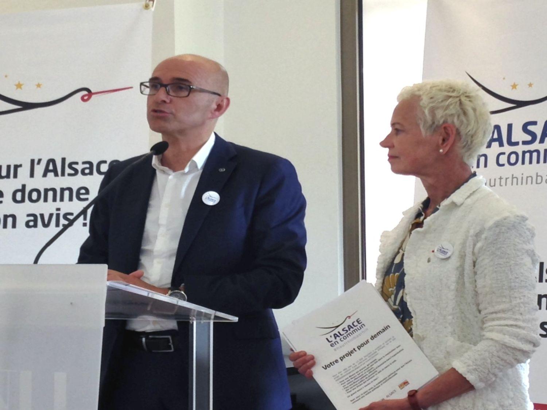 """CeA : le """"tour d'Alsace en 80 jours"""" des élus alsaciens démarrera..."""