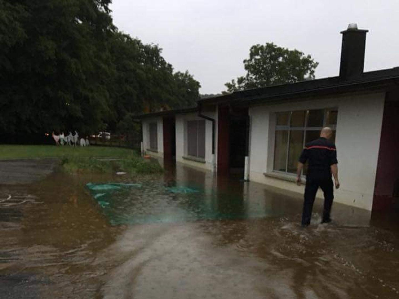 Haut Soultzbach école Soppe-le-Bas inondation