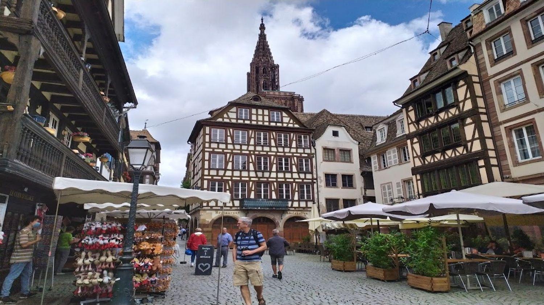 place Cochon de lait Strasbourg Cathédrale