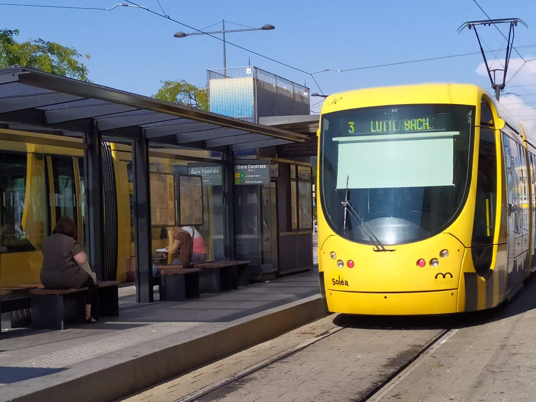 Tram Solea Mulhouse gare