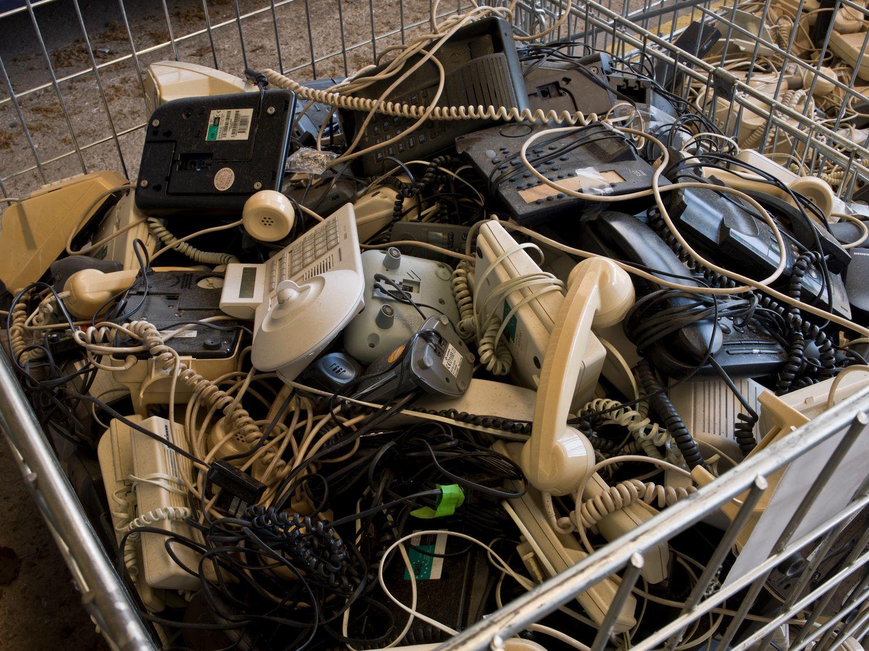Vieux téléphones