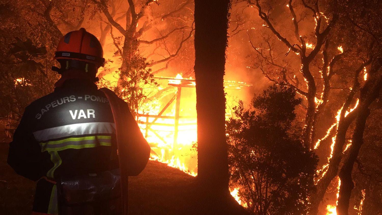 Incendie Var pompier