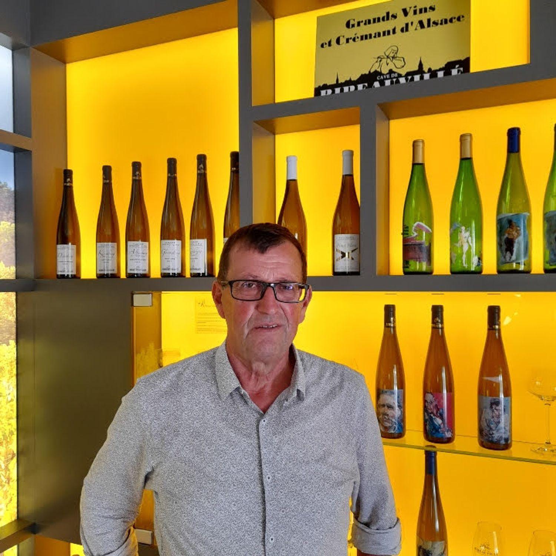 Yves Baltenweck cave Ribeauvillé octobre 2021