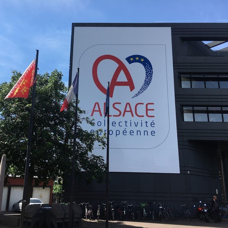 Collectivité Européenne Alsace CEA Strasbourg été