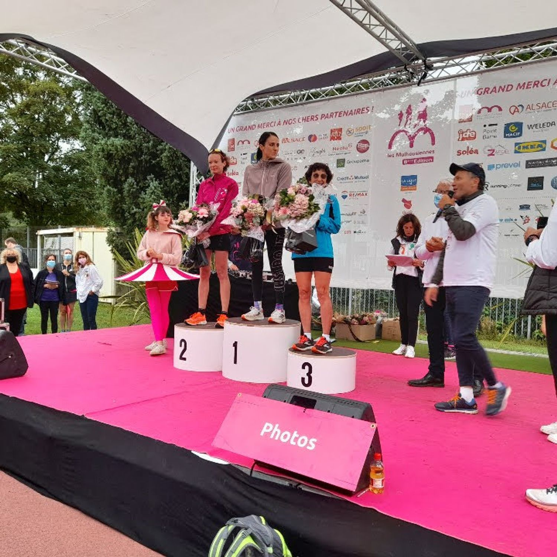 Les Mulhousiennes courses 2021 podium