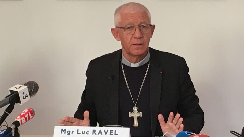Monseigneur Mgr Ravel archevêque Strasbourg octobre 2021