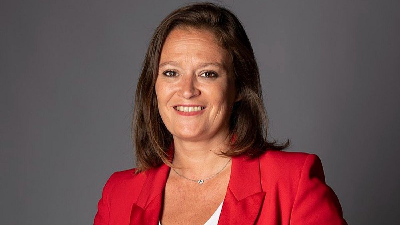 La secrétaire d'État chargée de l'économie sociale, solidaire et responsable ce vendredi à Dijon