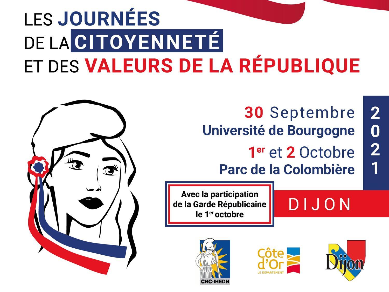 Dijon : des journées de la citoyenneté et des valeurs de la République