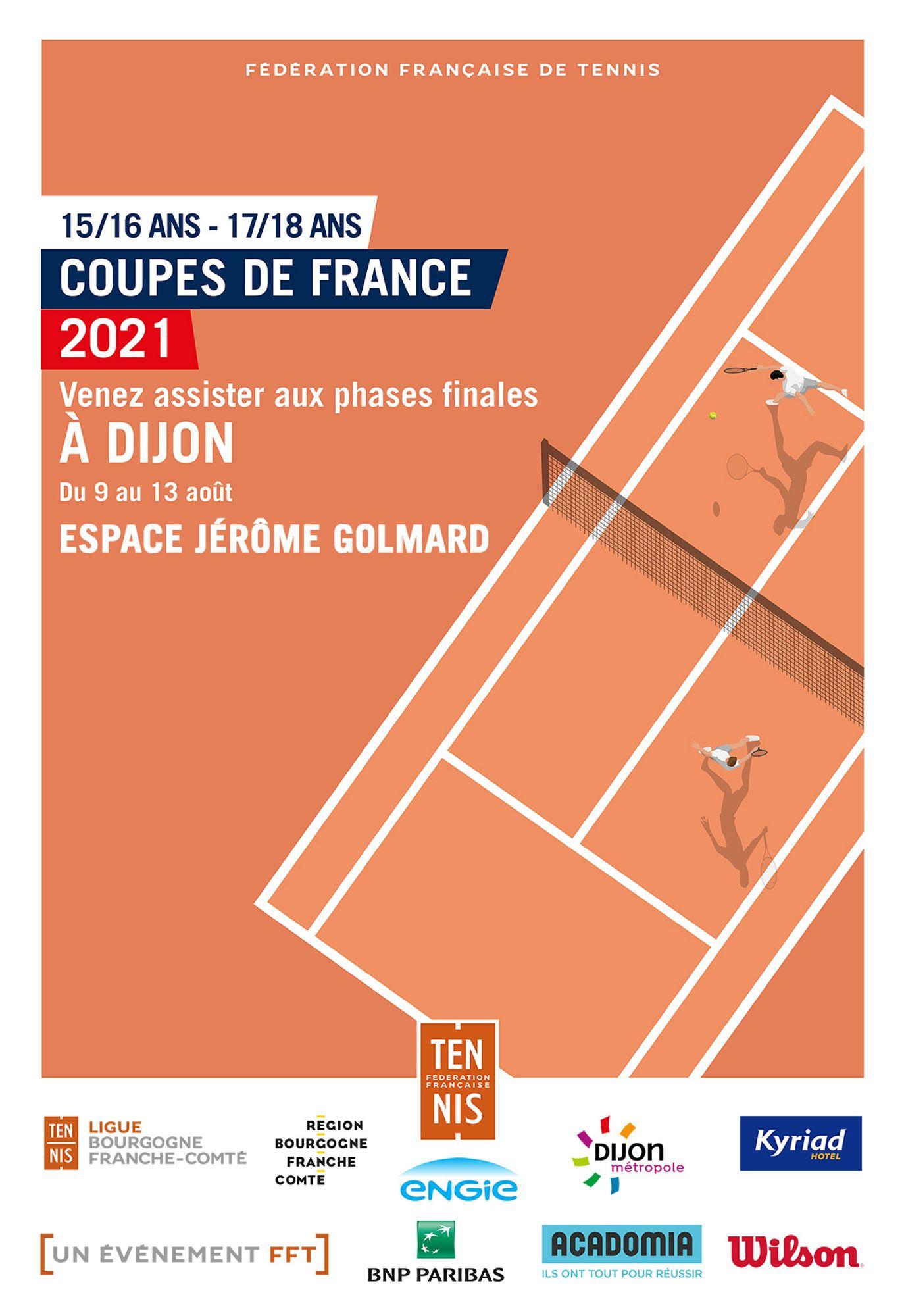 Tennis : Les Championnats de France individuels 2021 débutent à Dijon