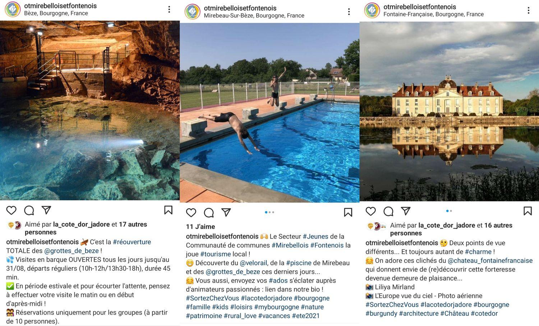 Découvrez les paysages Mirebellois et Fontenois sur Instagram