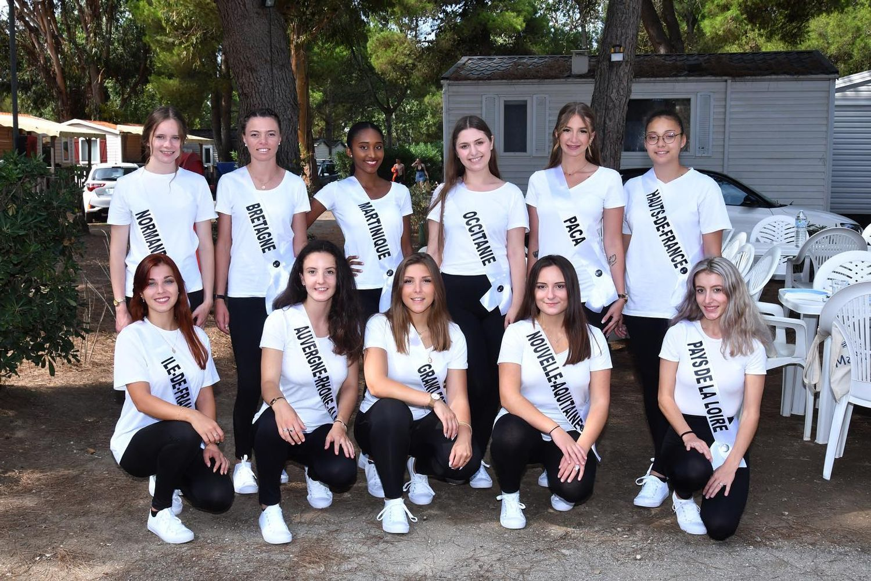 Les répétitions s'intensifient à quelques heures du concours, Miss Jeunesse France