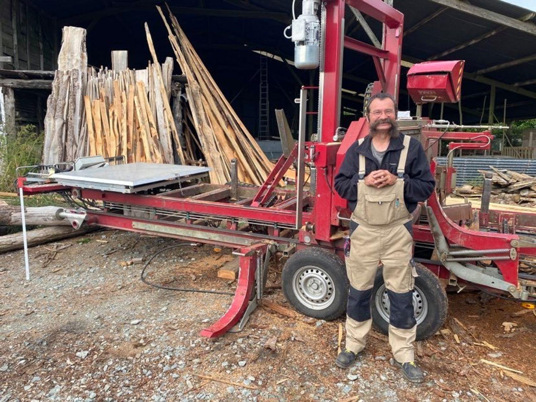 La scierie mobile en Vendée