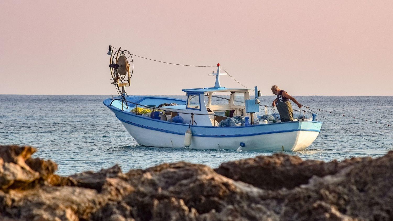 Bateau de pêche - illustration