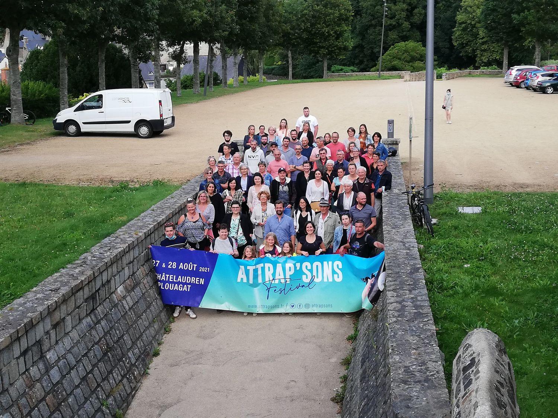 Les bénévoles d'Attrap'sons