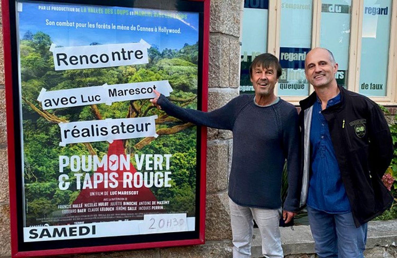 Luc Marescot et Nicolas Hulot