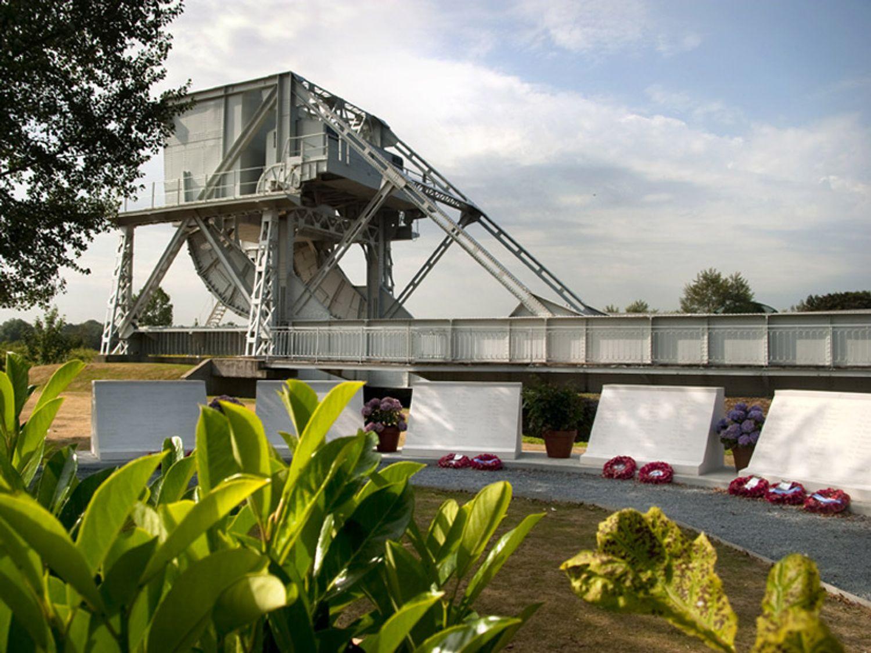 Le pont de Bénouville est impraticable depuis lundi 23 août 10h30