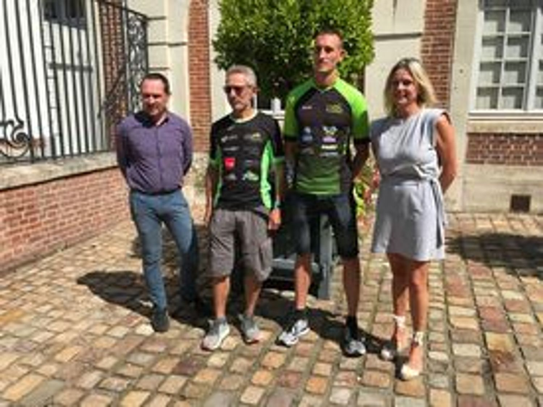 L'équipe organisatrice du Trail Urbain de Lisieux