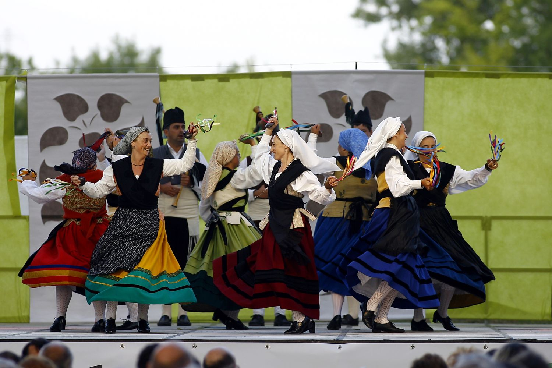Danseurs des Asturies.