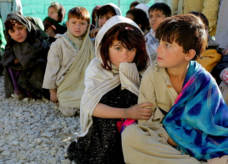 Des enfants en Afghanistan