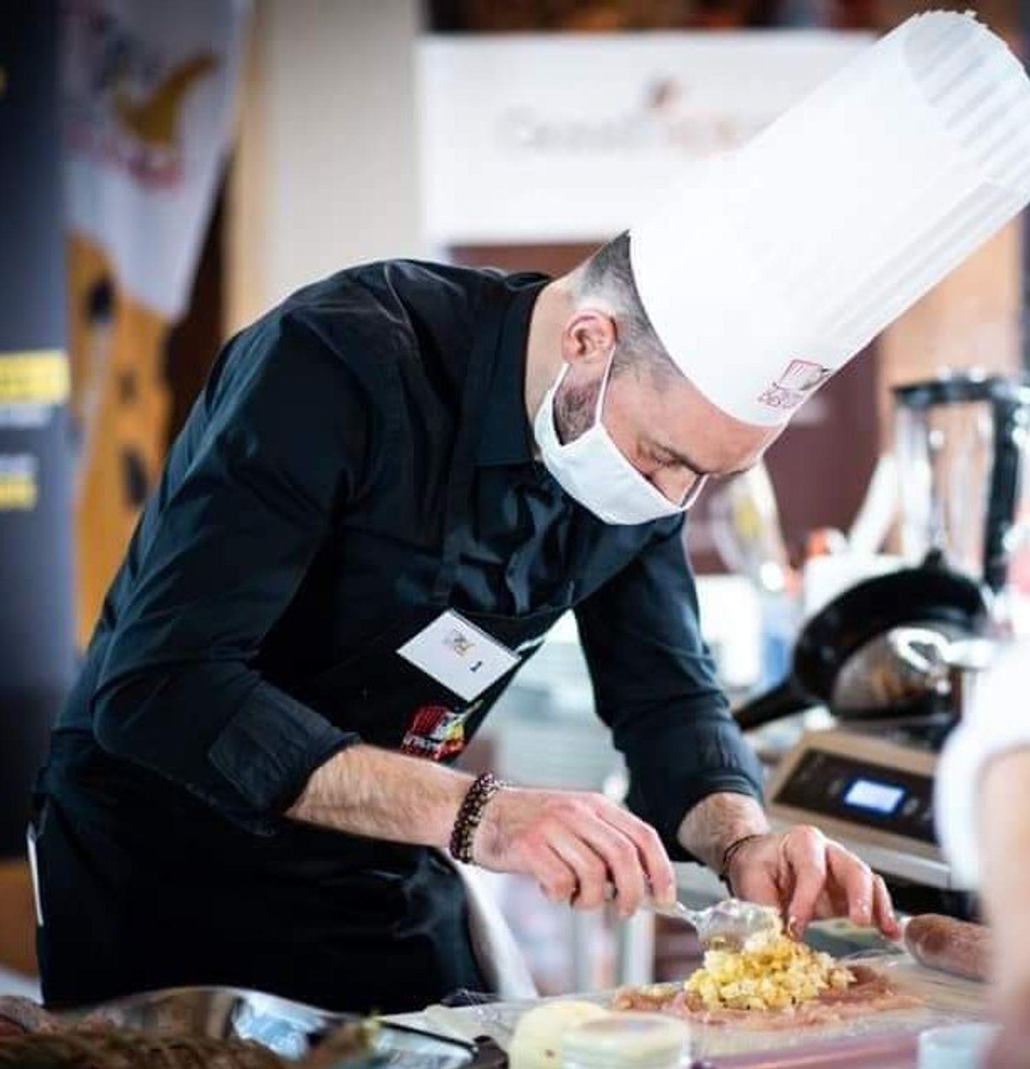 Yannick Dubois, vice-champion de France de cuisine amateur