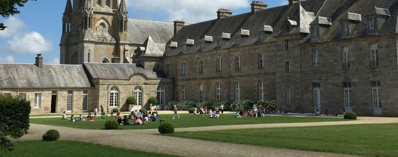 Le château de Quintin (22).