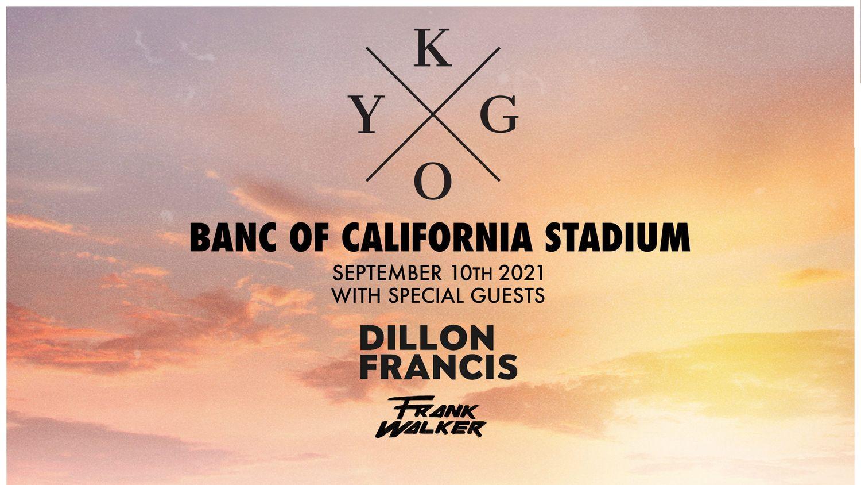 Live Stream pour le show de Kygo à Los Angeles
