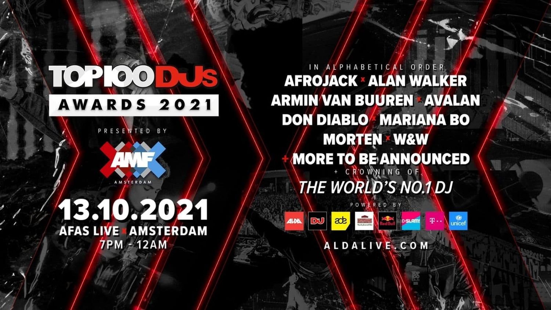 Le Top 100 DJs 2021 révélé le 13 octobre