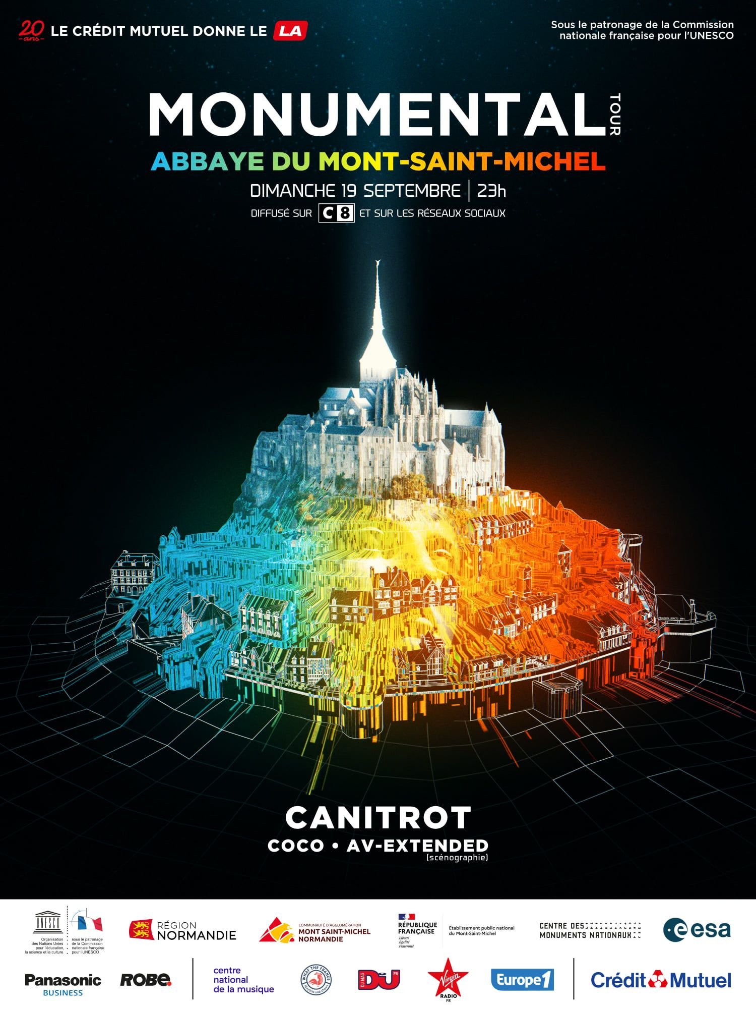 Monumental Tour by Michael Canitrot