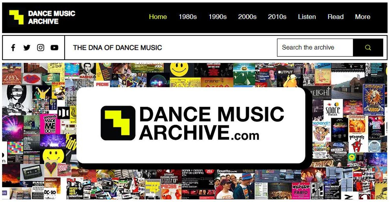 dance music archive