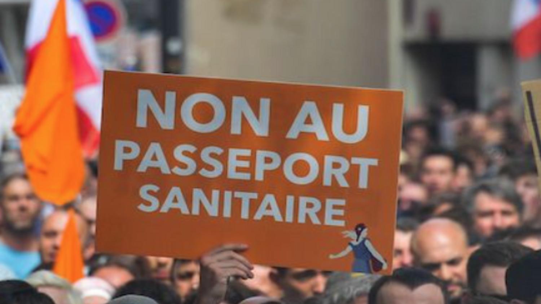 Manif pass sanitarie