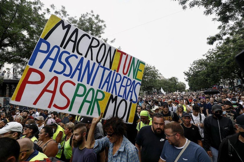 Un nouveau rassemblement contre le pass sanitaire est prévu demain à Orléans.