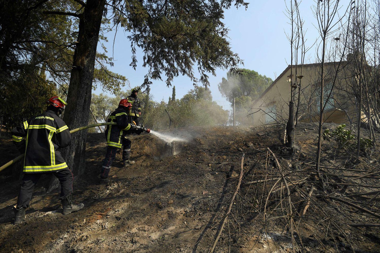 Les pompiers du GIFF 79 sont mobilisés dans le Var.