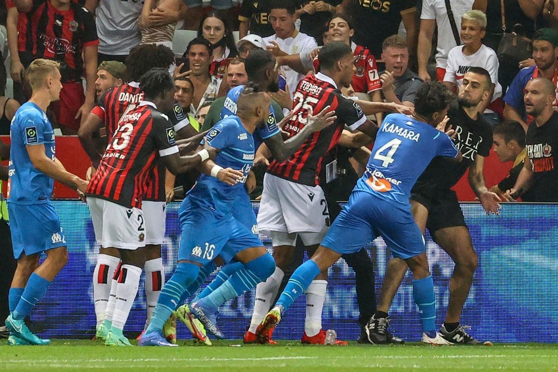 Match de football Nice-OM du 22 août