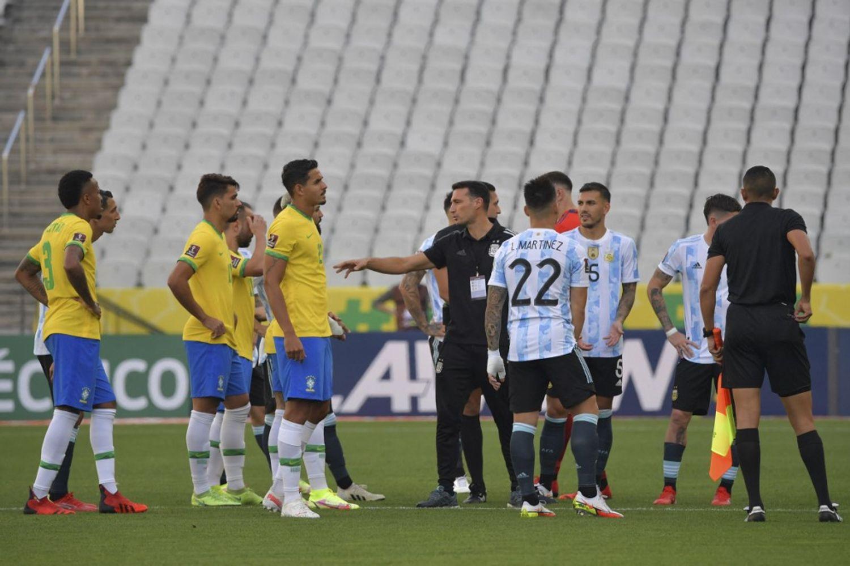 Brésil argentine match de foot