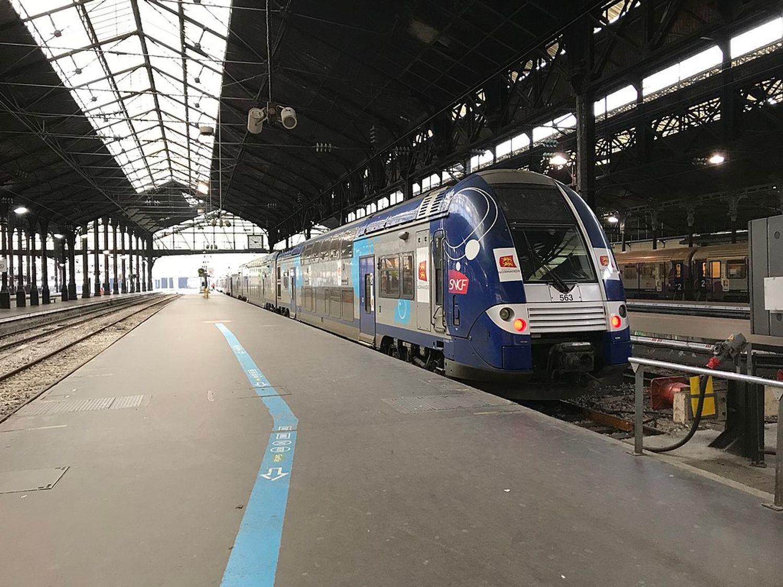 Train TER Normandie Gare St lazare