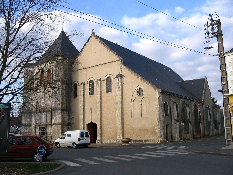 L'église de Déols, dans l'Indre.